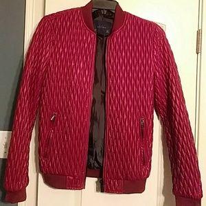 Zara men red jacket